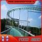 新型�W�t景�^玻璃滑道  70米高空玻璃吊�蛟O�施工  �蛏秸\信 玻璃滑道施工�O�一�w