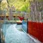 洛阳玻璃漂流滑道 600米玻璃水滑道施工造价 欢迎咨询
